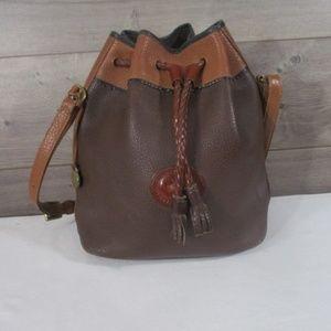 Dooney & Bourke Leather Teton Drawstring Tote Bag